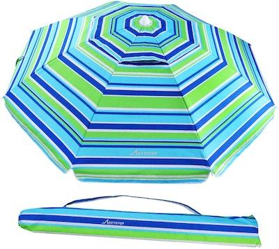 Movtotop Beach Umbrella with Sand Anchor