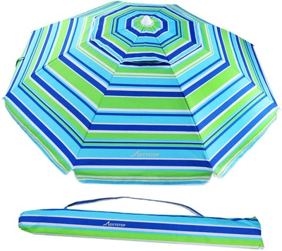 Movtotop Beach Umbrella with Sand Anchor