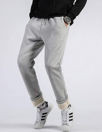 Gihuo Sherpa Lined Sweatpants