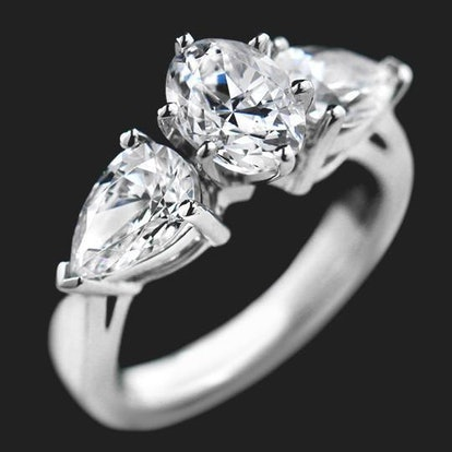 Jessica Three Stone Engagement Ring