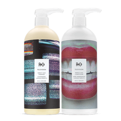 TELEVISION Perfect Hair Shampoo and Conditioner Set