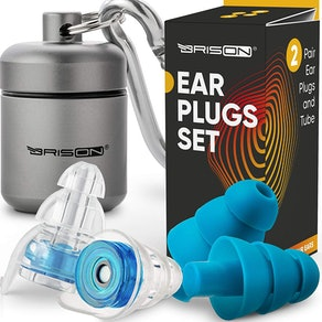 BRISON Noice-Canceling Ear Plugs Set (2 pairs)