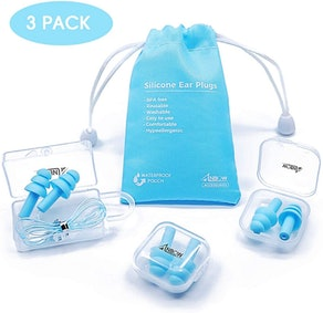 ANBOW Silicone Ear Plugs (3 pairs)