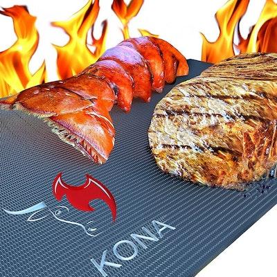 Kona Heavy Duty 600-Degree Nonstick Grill Mats (Set of 2)
