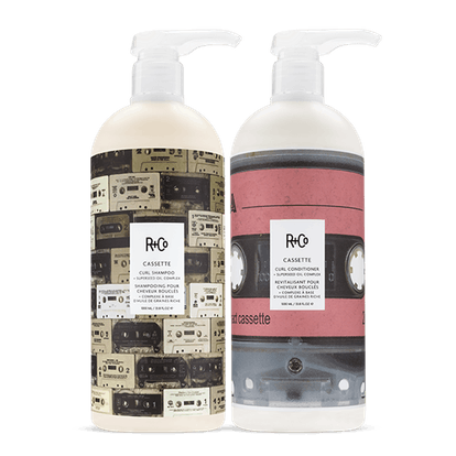 CASSETTE Curl Shampoo and Conditioner + Superseed Oil Complex
