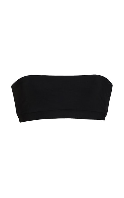 Black Bandeau Bikini Top