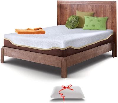 Live and Sleep Elite Memory Foam Mattress, Queen Size