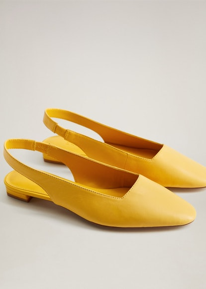 Slingback Leather Shoes