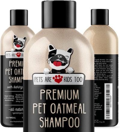 Pets Are Kids Too Premium Pet Oatmeal Shampoo