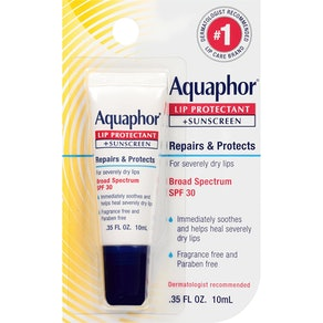 Aquaphor Lip Protectant and Sunscreen Ointment