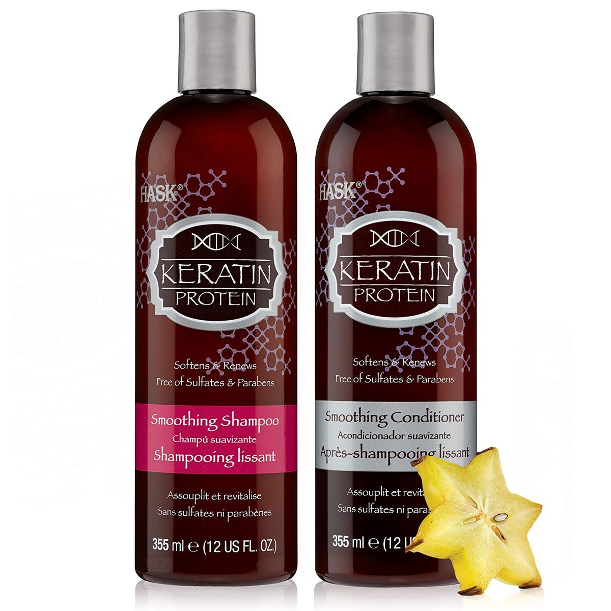 Hask Keratin Protein Shampoo and Conditioner