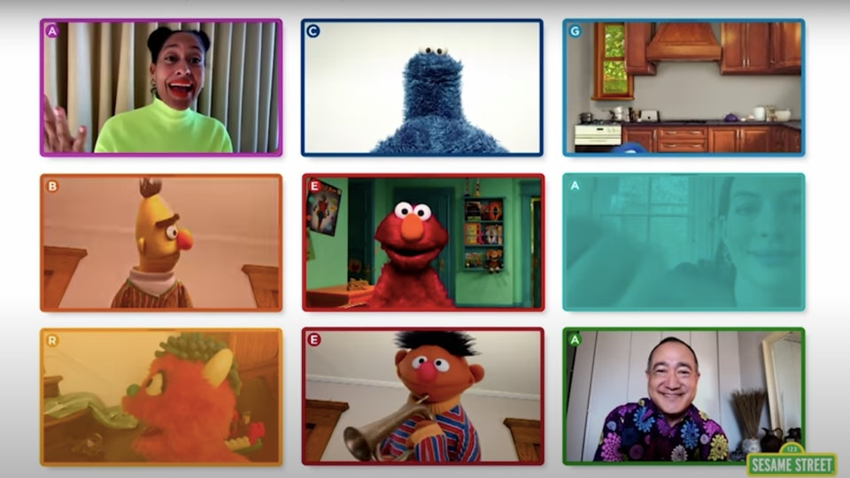 Rewatching 'Elmo's Virtual Playdate' online is super easy to do so.