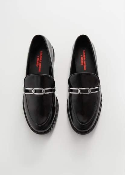 Patent Leather Link Loafers