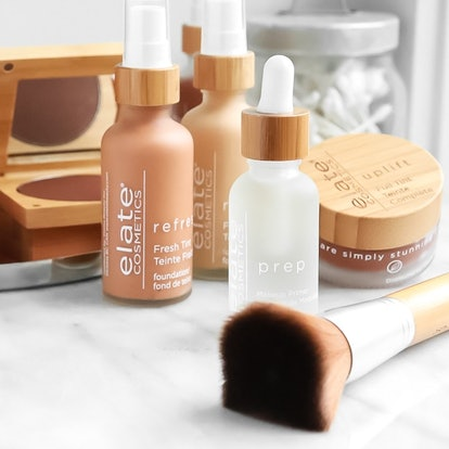 Zero-waste beauty products from Elate Cosmetics.