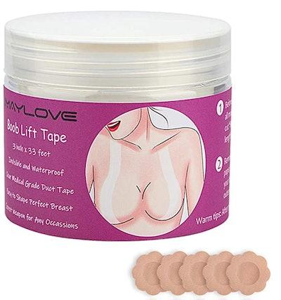 Maylove Boob Lift Tape (33-Foot Roll)