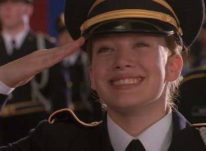 Hilary Duff in 'Cadet Kelly' Disney Channel Original Movie