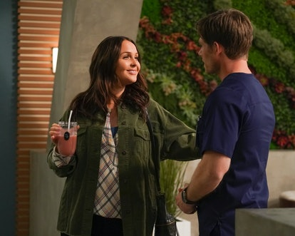 Grey's Anatomy showrunner explains Jo's reaction to Alex's departure.