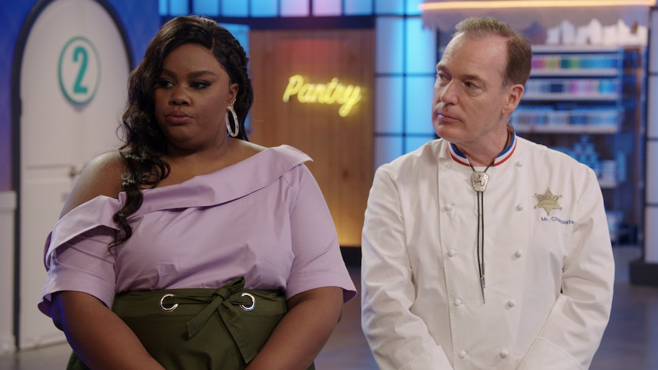 Nicole Byers and Jacques Torres on Nailed It
