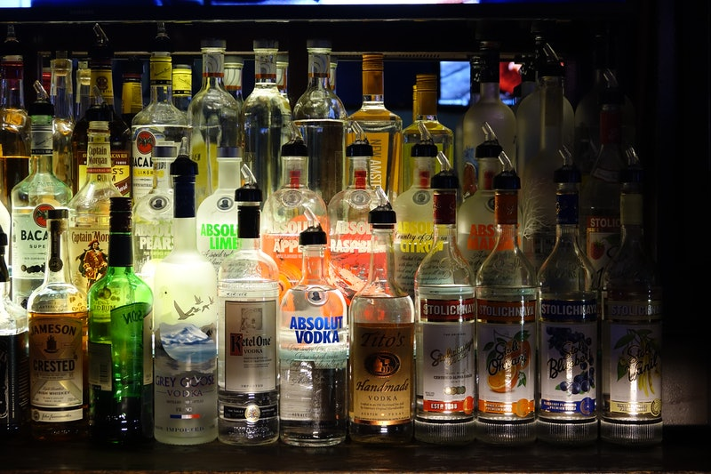 Alcohol does eventually go bad but it depends on the type of alcohol and how it's stored.