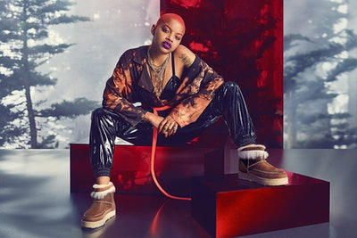 Slick Woods in UGG campaign