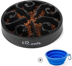 Freefa Interactive Puzzle, Slow Feeder Dog Bowl