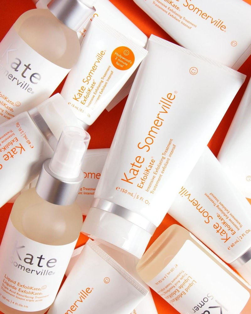 Jumbo-size luxury beauty products include Kate Somerville's ExfoliKate Treatment