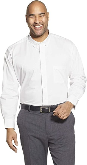 Izod Men's Big And Tall Dress Shirt