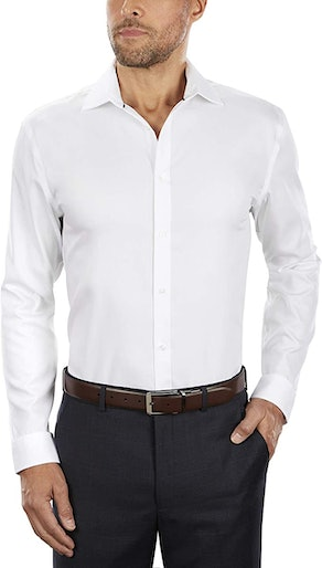 Tommy Hilfiger Men's Slim Fit Dress Shirt