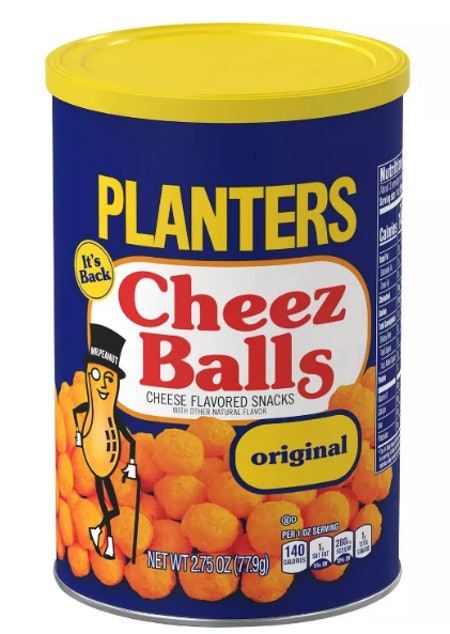 Planters Cheez Balls Puffed Snack