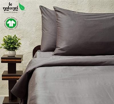 Le Naturel 100% Organic Cotton Queen Duvet Cover (Queen)