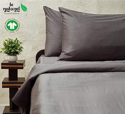 Le Naturel 100% Organic Cotton Queen Duvet Cover (Queen)