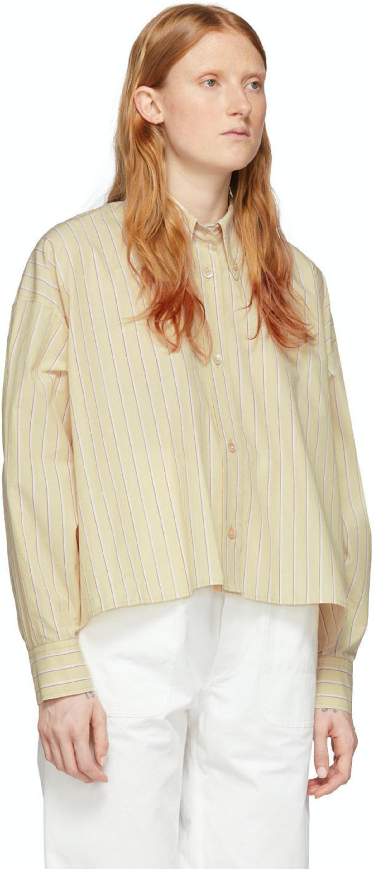 Off-White Silk Macao Shirt