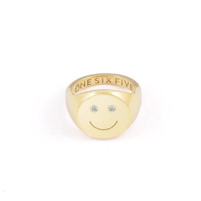 Smiley Signet Ring