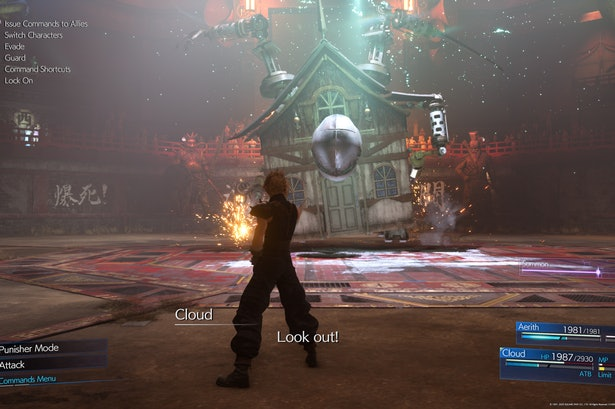 Final Fantasy 7 Remake Hell House Weaknesses And Best Materia To Use