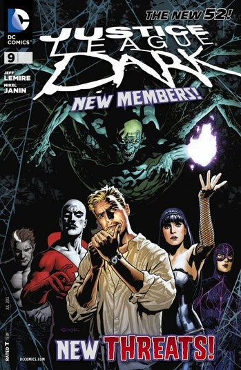 DC Justice League Dark