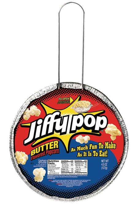 Jiffy Pop Butter Popping Pan Popcorn, 4 Pack