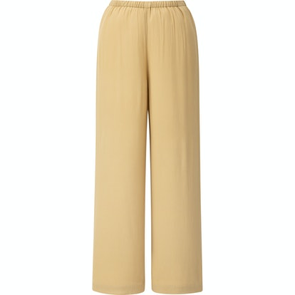 Rayon Wide Ankle Pants