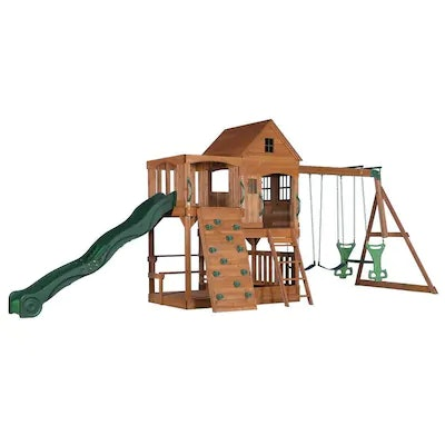 Backyard Discovery Pacific View Residential Wood Playset