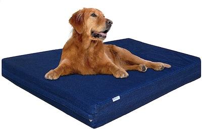 Dobed4less Orthopedic Dog Crate Mat