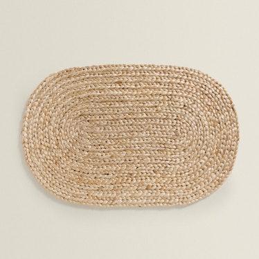 Oval Jute Doormat