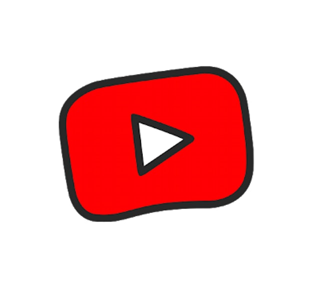 YouTube kids logo - red square with play button icon in the middle