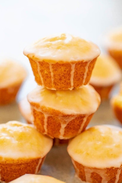 Averie Cooks recipe for mimosa muffins is great when you're out of milk.