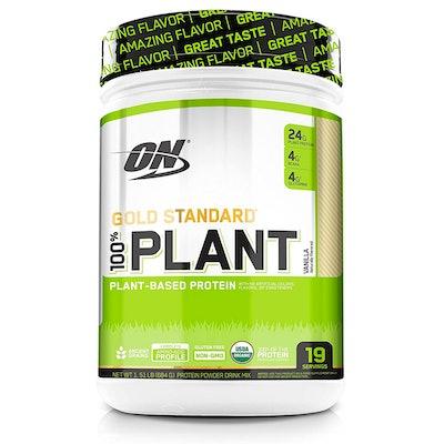 Optimum Nutrition GOLD STANDARD 100% Organic Plant Based Protein Powder (19 Servings)