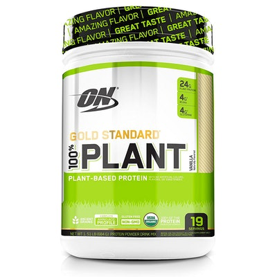 Optimum Nutrition GOLD STANDARD 100% Organic Plant Based Protein Powder (19 Servings)