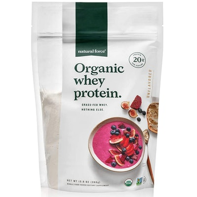 Natural Force Organic Whey Protein Powder (15 Servings)