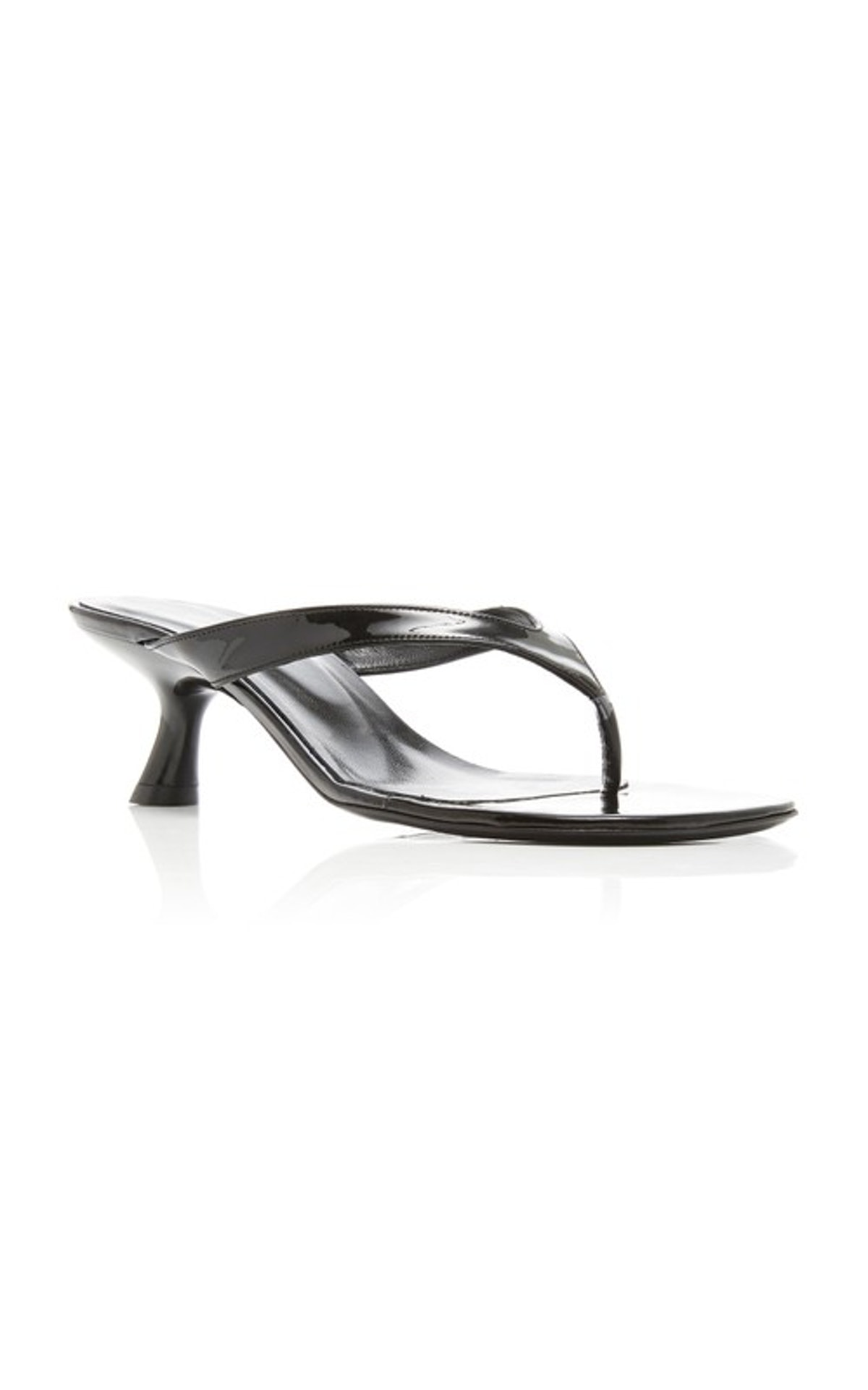 Simon Miller Beep Leather Thong Sandals
