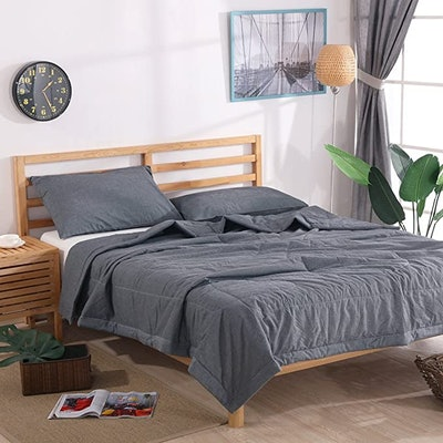 NTCOCO Thin Summer Comforter Set