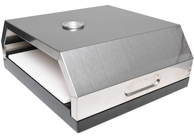 Zenvida Grill Top Pizza Oven with Stone