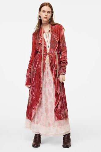 Limited Edition Velvet Kimono