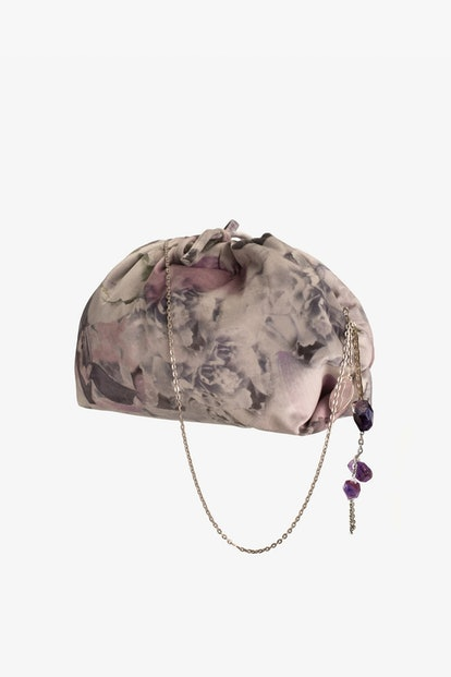 FLORAL PRINT CROSSBODY POUCH